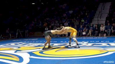 165lbs Dylan Lydy, Purdue vs Luke Zilverberg, SDSU