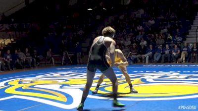 174lbs - Jacob Morrissey, Purdue vs David Kocer, SDSU