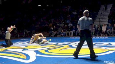 184lbs - Tanner Lynde, Purdue vs Martin Mueller, SDSU