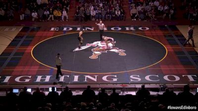 157 lbs Micheal Kemerer, Iowa vs Chase Delande, Edinboro