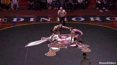 184 lbs Sammy Brooks, Iowa vs Dakota Geer, Edinboro
