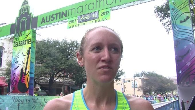 Allison Macsas says Austin win was tough!