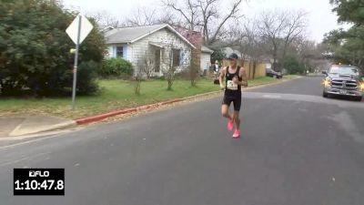 2017 Austin Half Marathon: Men's Finish