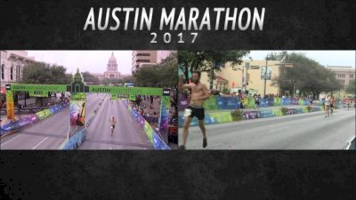 2017 Austin Marathon: Finishers from 3:45 to 4:35