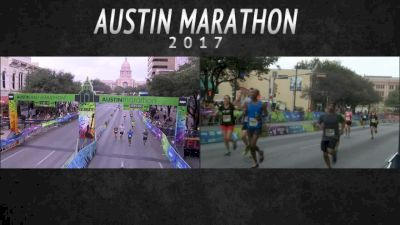 2017 Austin Marathon: Finishers from 4:35 to 7:36