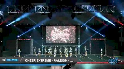 Cheer Extreme - Raleigh - SSX [2021 L6 Senior - Small Day 1] 2021 JAMfest Cheer Super Nationals