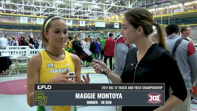 Maggie Montoya secures Baylor first ever Big 12 team title with 3k victory