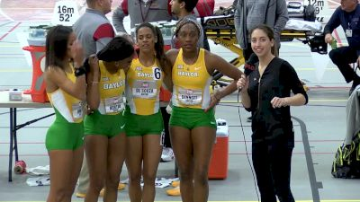 The Baylor women won an exciting 4x4 and first ever team title