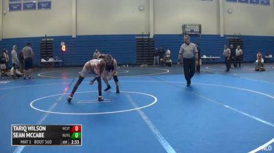 133 3rd Place - Tariq Wilson, NC State vs Sean McCabe, Rutgers