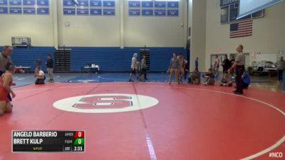 133 5th Place - Angelo Barberio, American vs Brett Kulp, Franklin & Marshall