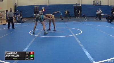 149 3rd Place - Felix Belga, Drexel vs Josh McClure, North Carolina