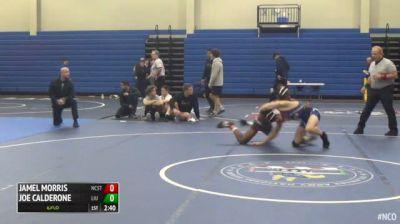 141 3rd Place - Jamel Morris, NC State vs Joe Calderone, LIU Post