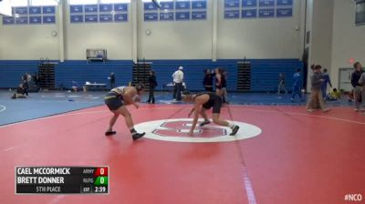 165 5th Place - Cael McCormick, Army West Point vs Brett Donner, Rutgers