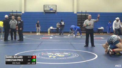 174 3rd Place - Daniel Bullard, NC State vs Christian Price, Ashland