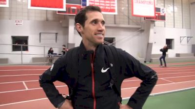 Ryan Hill says not great finish but good overall 5k race at BU Last Chance