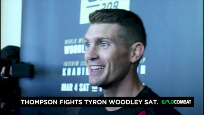Stephen Thompson Says Nerves Won't Be a Factor This Time Around