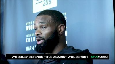 UFC 209: Tyron Woodley Pre-Fight Scrum