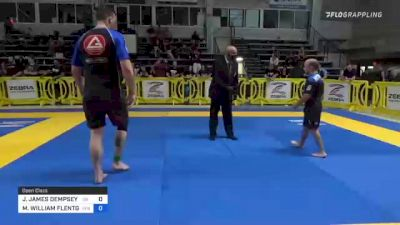 JESSE JAMES DEMPSEY JR vs MARK WILLIAM FLENTGE 2021 Pan IBJJF Jiu-Jitsu No-Gi Championship