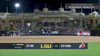 LSU vs Utah   2017 Mary Nutter Classic 2