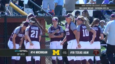Michigan vs Texas A&M   2017 Mary Nutter Classic 2