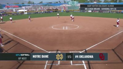 Notre Dame vs Oklahoma   2017 Mary Nutter Classic 2