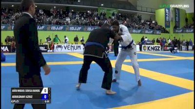 João Miguel Sousa Ramos vs Abdulghany Azouz IBJJF 2017 European Championships