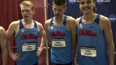 The Ole Miss men were ready for Ches, and thrilled with the win