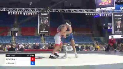 182 lbs Consolation - Clayton Whiting, Wisconsin vs Jared Simma, Kansas