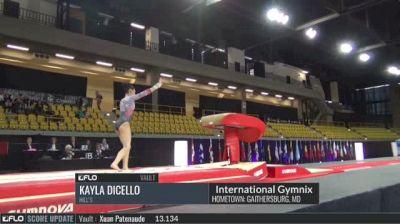Kayla DiCello - Vault, Hill's - 2017 International Gymnix - Challenge