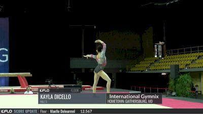Kayla Dicello  - Floor, HIll's - 2017 International Gymnix - Challenge