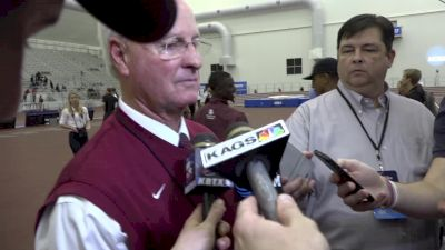 After A&M's first men's indoor title, Pat Henry says they're even better outdoors