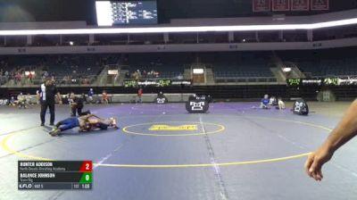107 RR Rnd 3 - Hunter Addison, North Desoto Wrestling Academy vs Balance Johnson, Team Big