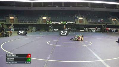 75 RR Rnd 3 - Mason Young, Blackwell Wrestling Club vs Jude Smith, Matrix Grappling