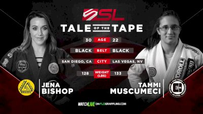 Tammi Musumeci vs Jena Bishop Five Grappling Super League