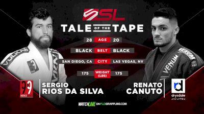 Renato Canuto vs Sergio Rios Five Grappling Super League