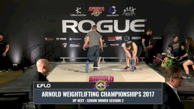 2017 Arnold Weightlifting Championships - Saturday Session 4