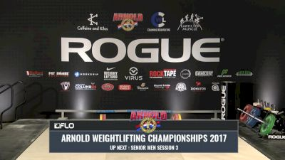 2017 Arnold Weightlifting Championships - Saturday Session 5