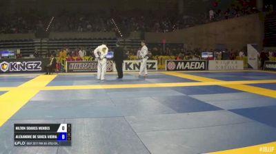 Nielton Soares Mendes vs Alexandre De Souza Vieira IBJJF 2017 Pan Jiu-Jitsu Championship