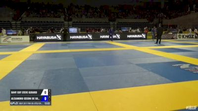 Alexandro Ceconi De Souza vs Dany Guy Steve Gerard IBJJF 2017 Pan Jiu-Jitsu Championship