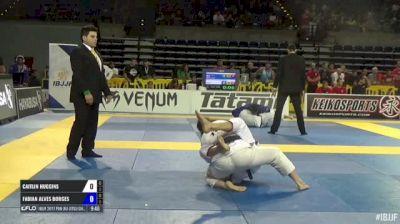 CAITLIN HUGGINS vs FABIAN ALVES BORGES IBJJF 2017 Pan Jiu-Jitsu Championship