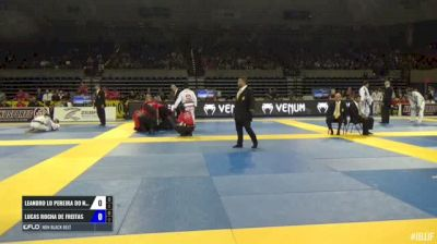 Leandro Lo Pereira Do Nascimento vs Lucas Rocha De Freitas IBJJF 2017 Pan Jiu-Jitsu Championship