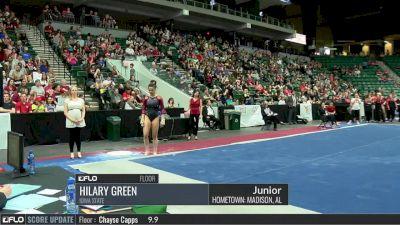 Hilary Green - Floor, Iowa State - 2017 Big 12 Championship