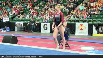 Claire Hammen - Floor, Denver - 2017 Big 12 Championship