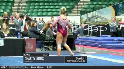 Charity Jones - Floor, Oklahoma - 2017 Big 12 Championship