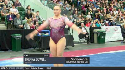 Brenna Dowell - Floor, Oklahoma - 2017 Big 12 Championship