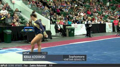 Kirah Koshinski - Floor, West Virginia - 2017 Big 12 Championship