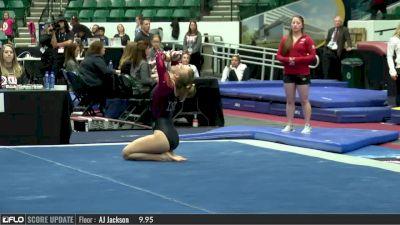Courtney Middelkoop - Floor, Iowa State - 2017 Big 12 Championship