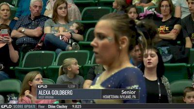 Alexa Goldberg - Floor, West Virginia - 2017 Big 12 Championship