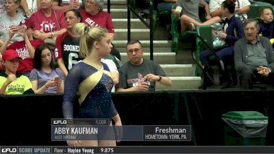 Abby Kaufman - Floor, West Virginia - 2017 Big 12 Championship