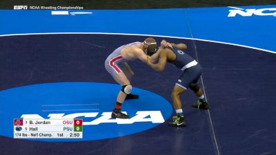 174 lbs Finals, Mark Hall (Penn St.) vs Bo Jordan (Ohio St.)